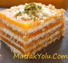 Havuç Rüyası Tarifi - Breads, Buns, and Rolls - Desserts - Dessert Recipes Desserts Keto, Easy Desserts, Dream Recipe, Pasta Cake, Dessert Oreo, Tasty, Yummy Food, Turkish Recipes, Light Recipes
