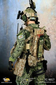 onesixthscalepictures: Toys City U.S.NAVY NSW Marksman Overwatch Operation : Latest product news for 1/6 scale figures (12 inch collectibles...