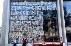 RETNA – New Mural in Los Angeles