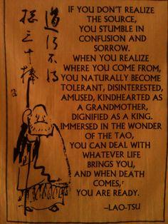 Tao wisdom.
