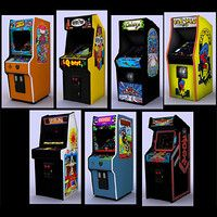 Classic arcade games - pack 2 Model available on Turbo Squid, the world's leading provider of digital models for visualization, films, television, and games. Mario Bros Arcade, Mini Arcade Machine, Mortal Kombat 4, Arcade Joystick, Classic Video, Retro Arcade, Game Room Design, Game Sales, Videogames
