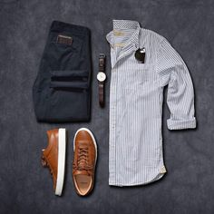 1,902 отметок «Нравится», 4 комментариев — Mens lifestyle 247 (@menslifestyle247) в Instagram: «Love these sneakers  - - Shirt: @niftygenius  Chinos: @bonobos  Sneakers: @greatsbrand  Watch:…»