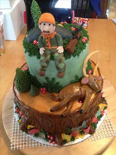 Deer hunting cake!!!