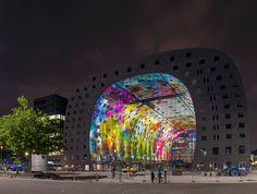 Markthal, Rotterdam // Biggest piece of art in world