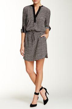 VINCE. | Silk Drawstring Hi-Lo Shirtdress | Nordstrom Rack  Sponsored by Nordstrom Rack.