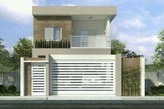 Plano de sobrado con cocina gourmet Loose plan with gourmet kitchen - House Plans, House Models and