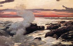 Winslow Homer - West Point, Prout's Neck, 1900