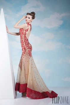 Tony Chaaya - Couture - Spring-summer 2014 - http://www.flip-zone.net/fashion/couture-1/independant-designers/tony-chaaya-4531