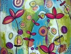 Abstract Art On Canvas Ideas — Home InspirationsHome Inspirations