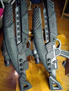 Making of Mass Effect weapons.