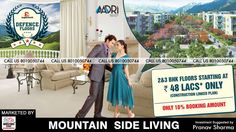 """Want to spend your rest of the life in the lap of Mother Nature? Supertech gives you this golden opportunity by offering you stunning residential place """"Aadri"""" in sector 79, Gurgaon. This independent fabulous place is contrived by well known architectural company named 'HOK London'.  For more information, about the project give us a call at: +91 8010050744.  #realestate #property #construction"""
