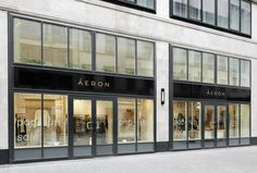 ÁERON Pop-up Store by 81font Architecture & Design, Budapest – Hungary »  Retail Design Blog