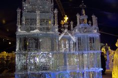 cathedral ice sculpture