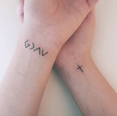 """God is greater than the highs and lows."" Nadia Thomas' tattoo"