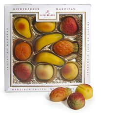 Niederegger Marzipan Fruits - From Lakeland Yummmmm Niederegger Marzipan, Willy Wonka, Food Festival, Kitchen Items, No Bake Cake, Kitchenware, Food Art, Food And Drink, Peach