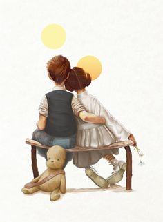 'Little Rebels' OMG I WANT this print.