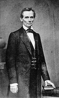 """""""Without the assistance of the Divine Being who ever attended him [Washington], I cannot succeed. With that assistance I cannot fail."""" Abraham Lincoln, Farewell Address, Springfield, Illinois, February 11, 1861"""