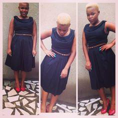 That black dress a woman owns  #blackdress #redshoes