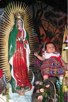 Celebra la fiesta a Nuestra Señora de Guadalupe ¡con fotos!: http://espanol.babycenter.com/thread/110373/