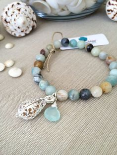 Hey, I found this really awesome Etsy listing at https://www.etsy.com/listing/211979621/light-earthtone-amazonite-beaded