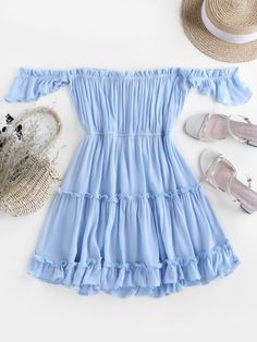 Cute Summer Outfits, Outfits For Teens, Girl Outfits, Cute Outfits, Fashion Outfits, Summer Dresses, Womens Fashion, Style Fashion, Cute Clothes For Women