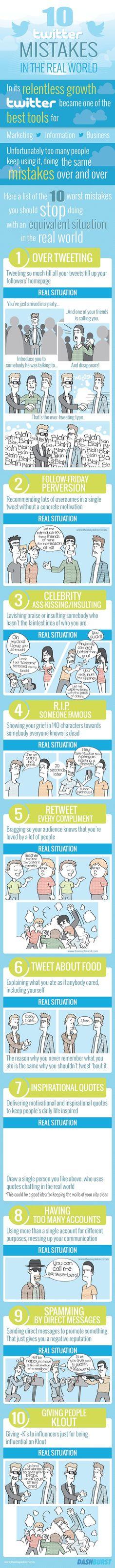 10 twitterowych błędów w realu