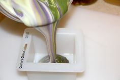 Lavender Mint Aloe Vera Soap Recipe - 1 lb and 2 lb versions (palm free)