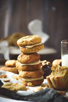 Tahini Cashew Nutter Butter Sandwich Cookies