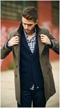 Next time you go out, have your pea coat.