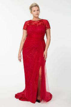 Plus Size Evening Gown | Kiyonna\'s Formal Evening Gowns | Dresses ...