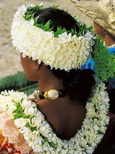 Leis (haku lei for the head)