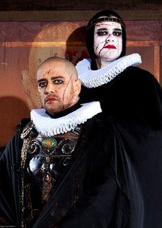 Macbeth (Marcelo Antony) & Claudio Fontana as Lady Macbeth