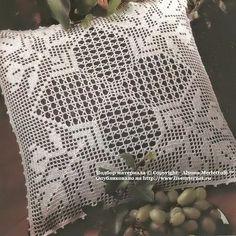 andrea croche: almofadas de croche