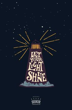 "Seriously, how can you not love this ""Let Your Light Shine"" illustration by @euaregeneius? Available now in men's (http://seekerbrand.com/products/let-your-light-shine-mens-shirt) and women's (http://seekerbrand.com/products/let-your-light-shine-womens-shirt) shirts, and maybe coming soon as a…poster? (But shh! don't tell anyone!) #beaseeker #tshirt #poster"
