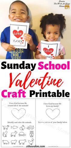 Sunday School Activities, Valentines Day Activities, Valentines For Kids, Valentine Crafts, Activities For Kids, Holiday Crafts For Kids, Easy Crafts For Kids, Mummy Bloggers, Kids Behavior