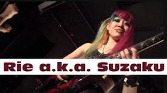 """Rie a.k.a. Suzaku: featuring Kota AokiDon't Hide Your Face2017   Rie a.k.a Suzaku Official Web Site http://ift.tt/2ljmT0W Hi I'm Rie a female guitarist from Japan. Currently I'm doing concerts mainly at Tokyo. Also I compose my own music and lyrics. In 2010 I made my debut with mini-album titled """"Messiah"""" then in 2011 2nd mini """"Mother Earth"""" was released. And in 2012 3rd mini """"Dreaming Eyes"""" brought me two domestic tours! These titles are now available on iTunes as well…"""