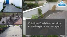 #béton #imprimé #aménagement #paysager