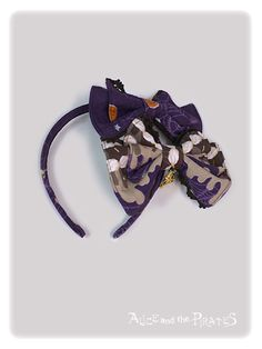 Alice and the Pirates Tricky Nightmare Factory double ribbon head bow