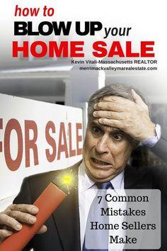 7 Common Mistakes the Home Sellers Make - http://merrimackvalleymarealestate.com/7-common-mistakes-homesellers-make/ via @krvitali