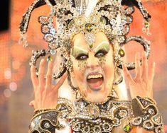 Gala Drag Queen - Carnaval las Palmas de Gran Canaria, España.