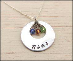 Personalized Nana Necklace by TNine Design, $28.00