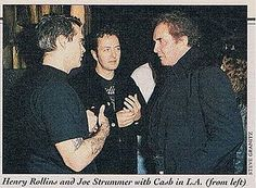 "Henry Rollins, Joe Strummer, Johnny Cash.   Joe Strummer And The Mescaleros – ""Long Shadow"" 