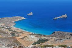 open sea in the south east of Crete, Xerokampos, Crete