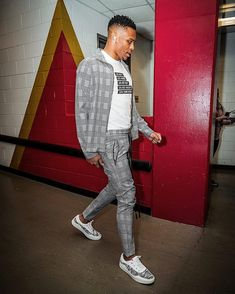 """innovative design 6d786 f52d4 MEN S FASHION POST on Instagram  """" russwest44 wearing The Crosby Outfit by   christosnewyork"""". Russell WestbrookWestbrook ..."""