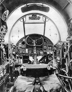 Handley Page Hampden Cockpit