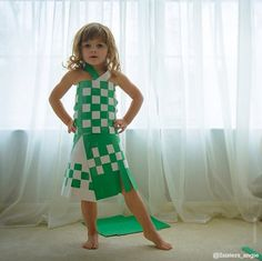 This 4-Year-Old Makes Paper Dresses With Her Mom -- And They Keep Getting More Amazing
