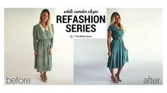 Join me as I refashion I dress I inherited from my Grandmother! I Dress, Shirt Dress, Sewing Hacks, Sewing Tips, Sewing Ideas, Sewing Projects, Old Clothes, Quilting Designs, Diy Fashion
