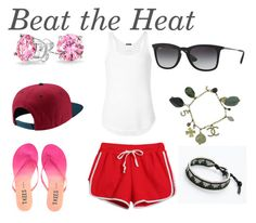 """""""Beat the Heat #Hot"""" by thelazysaber on Polyvore"""