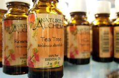 Homemade Herbal Tea Tree Shampoo