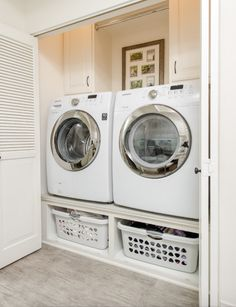 When I go back to front loaders I can downsize my laundry room.